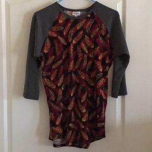 LulaRoe Long Sleeved T-Shirt